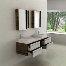 double bathroom vanity bathroom wood furniture cabinet