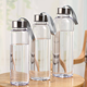 300ml 400ml 600ml bpa free clear outdoor plastic water bottle with Rope