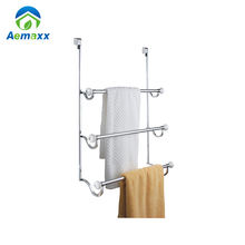 3 bar Stainless Steel Wall Mounted Bathroom Towel Rack