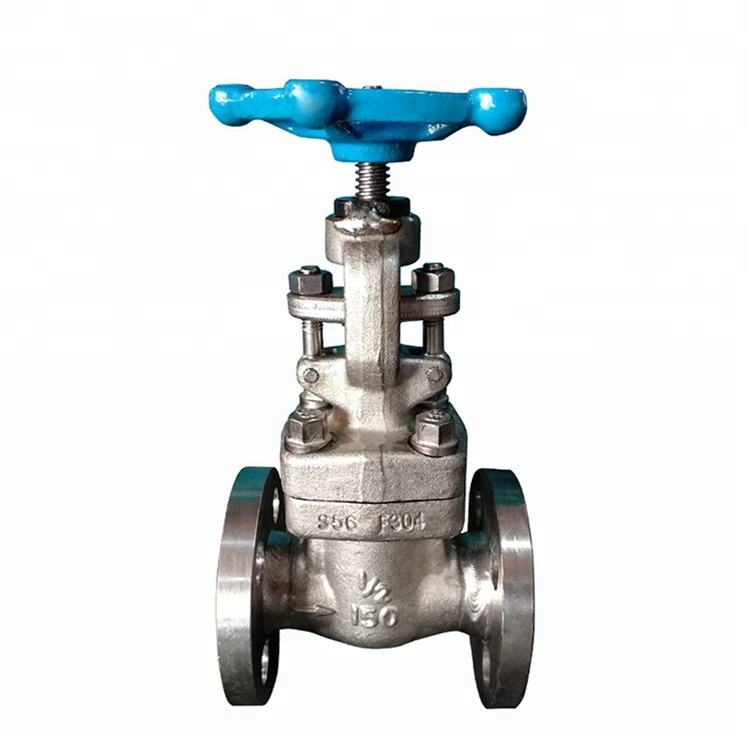 API 602 Flange End Hand Wheel Operated Forged F304 Globe Valve