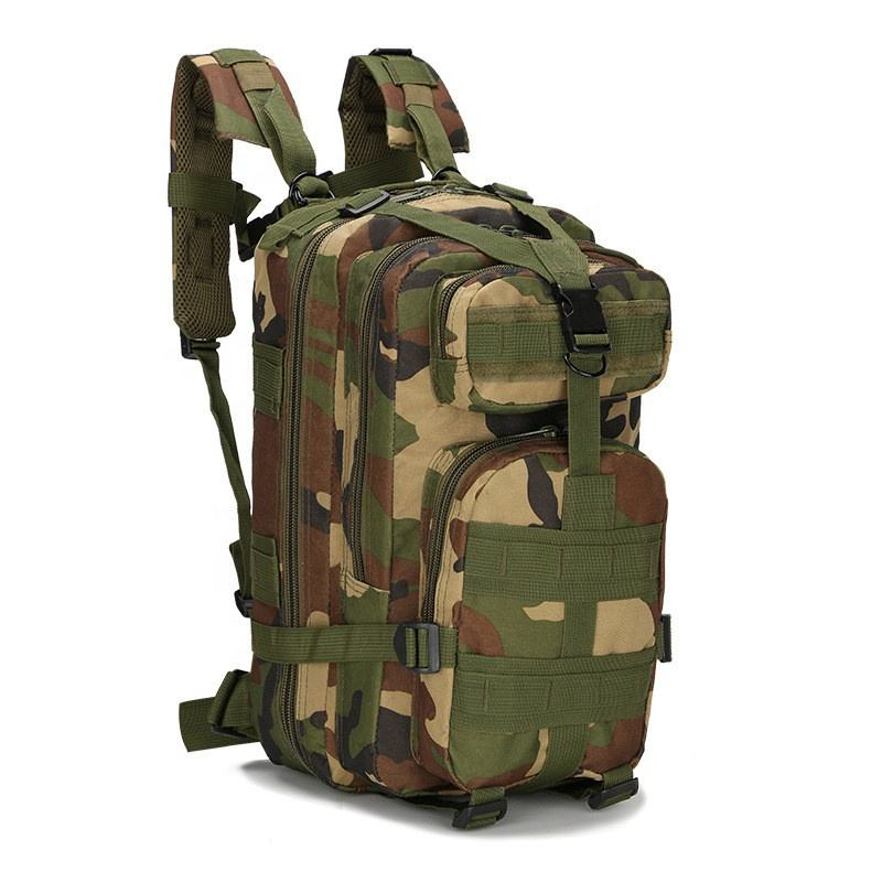 30L Backpack Outdoor Tactical Molle 3 일 폭행 팩 군 여행 Bug Out Bag 대 한 학교 Traveling 캠핑 Trekking