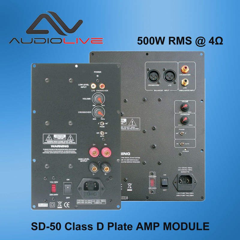 OEM Supply SD-50 class D plate amplifier