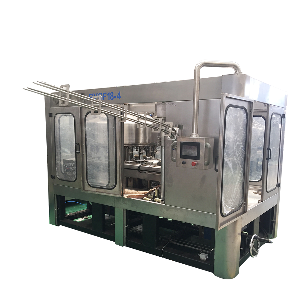 3000-9000CPH Carbonated Drink Aluminum Can Filling Machine / beer canning machine semi automatic