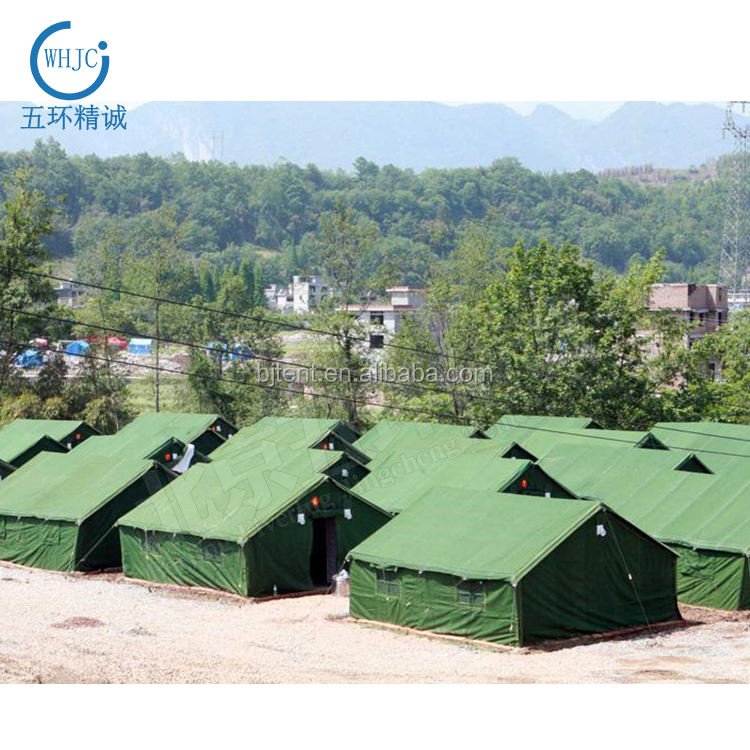 Outdoor Wholesale Winter Heating Warm Camping 5 Person Disaster Relief Tent 100% waterproof