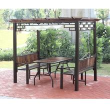 Wholesale Patio Cast Iron Grape Trellis Gazebo