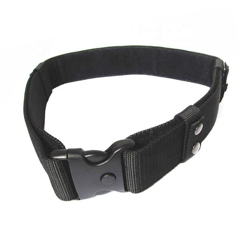 Black hook quick release elastic manufacture uniform support nylon army duty web tactical belt