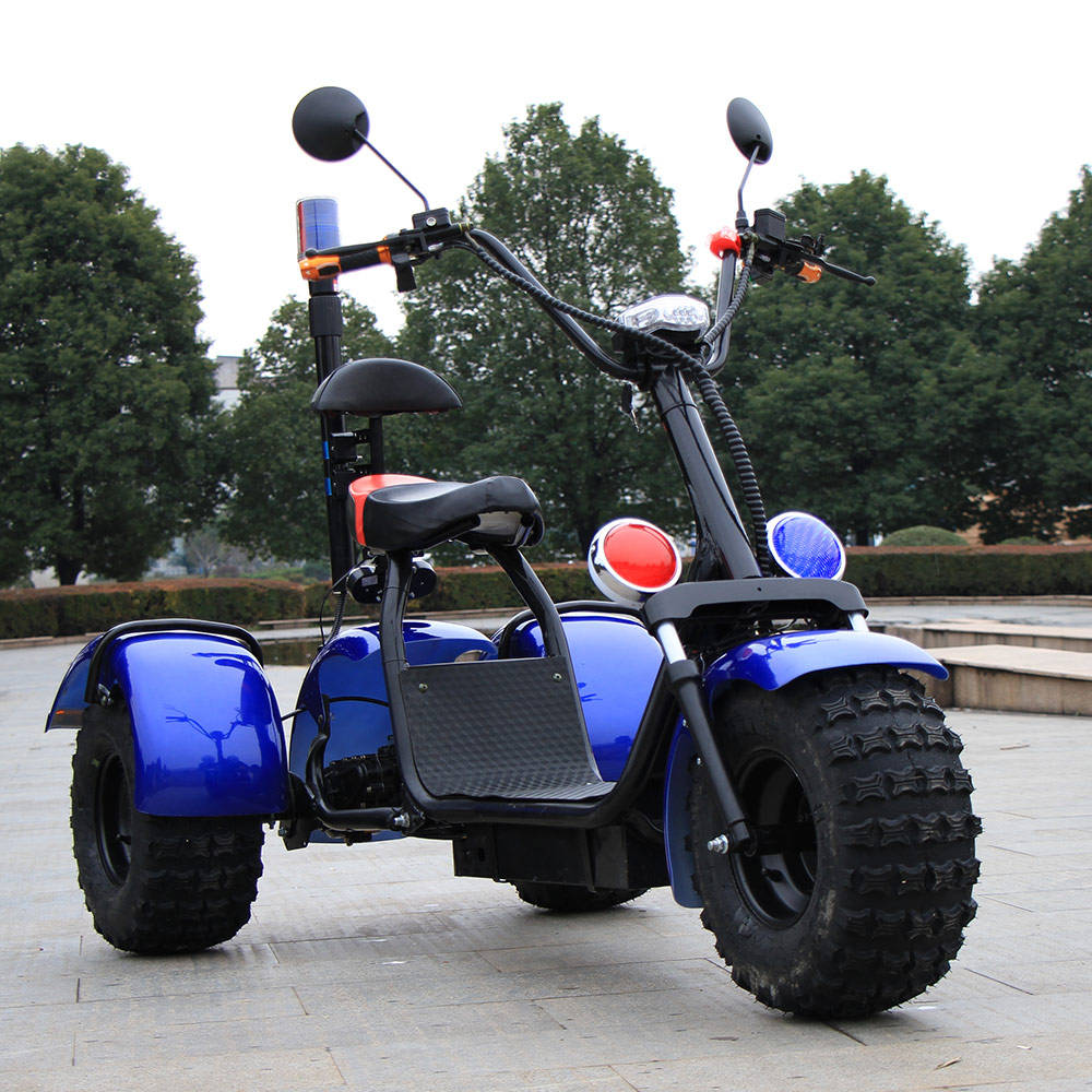 SC09 three wheels big tire trike atv adult tricycle citycoco 3 wheel electric scooter 1500w/2000w/3000W