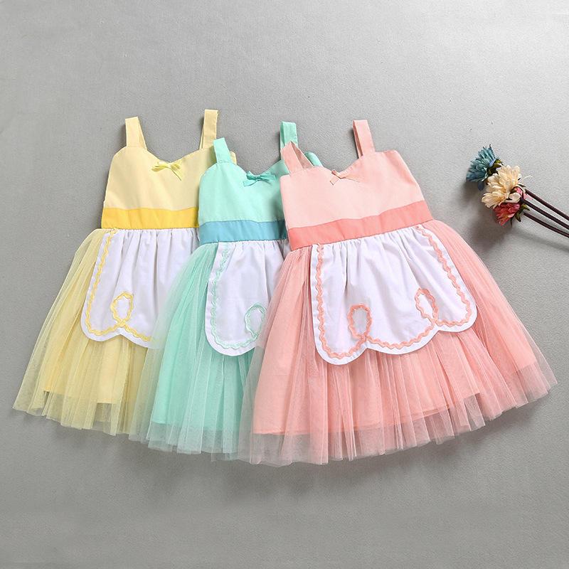 Verano niñas vestidos Alicia en el país de las Maravillas princesa boda vestido de fiesta