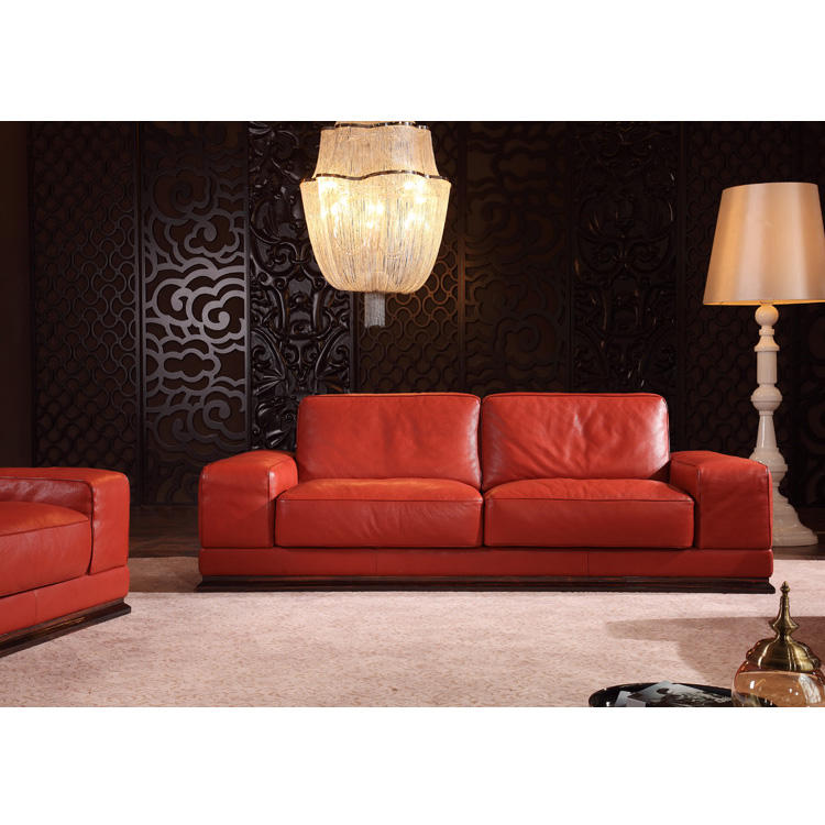 Factory Supplier Beautiful Leather Sofa
