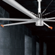 Aluminum Alloy blade 12ft-24ft Hvls Air Cooler Industrial Large Ceiling Fan