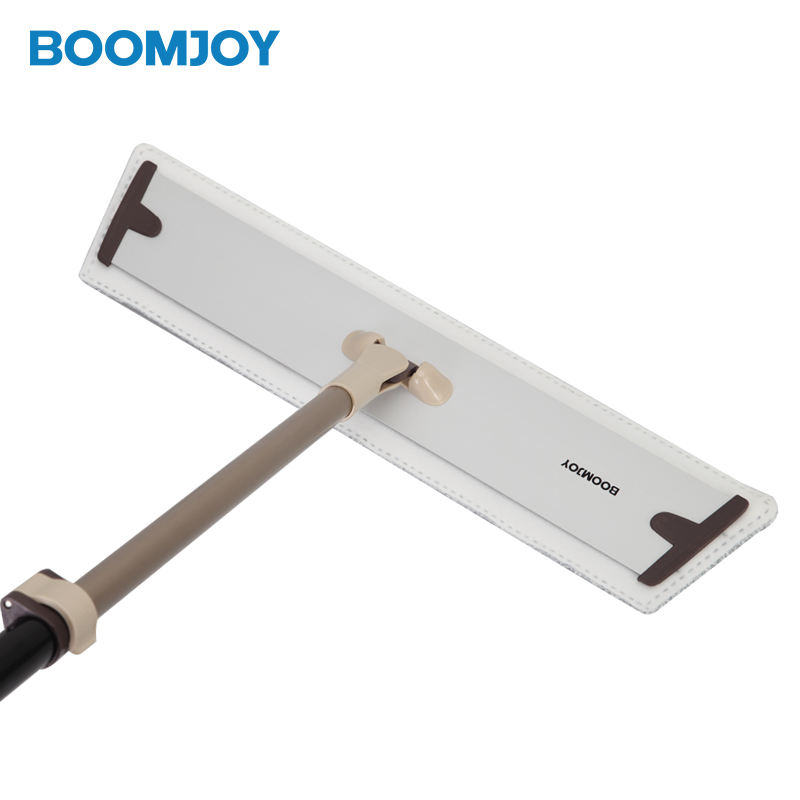 BOOMJOY E5 Aluminium Strong Flat Floor Frame Mop Cleaning For Hotel