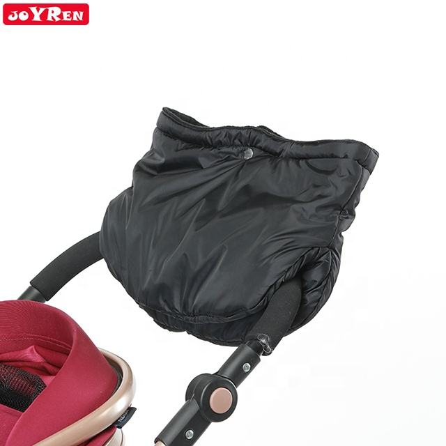 Universal warm soft stain resistant waterproof Conjoined stroller hand muff
