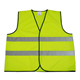 Good quality simple 100% polyester high visibility clothing mens safety vests/waistcoats