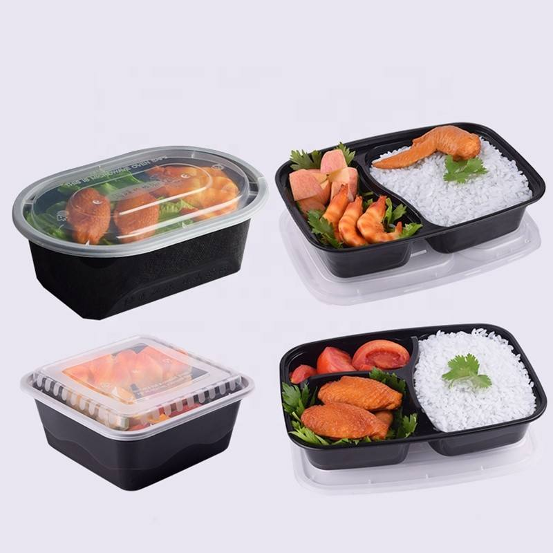 Food Meal Box Disposable Plastic Hot Pot Lunch Box