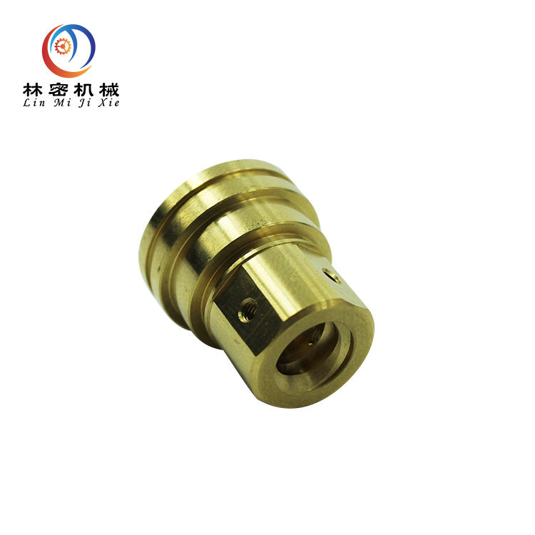 CNC turning cnc lathe machining brass electrical equipment parts batch turning