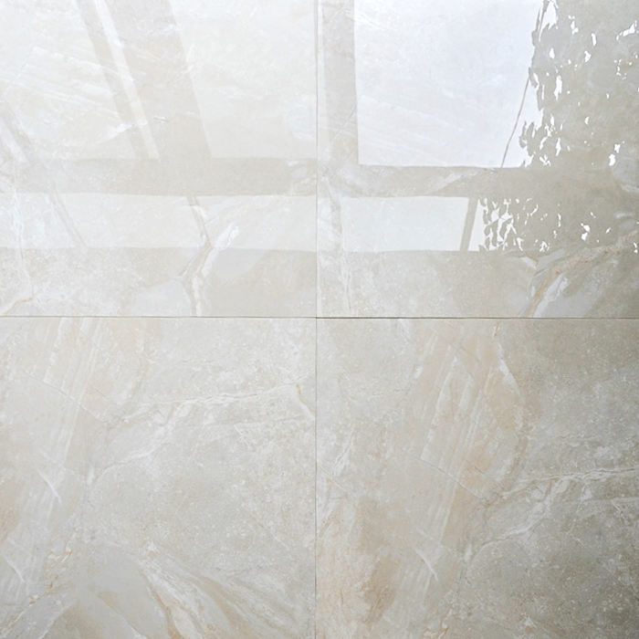 HB6251 24X24 nano crystal super white polished porcelain tile