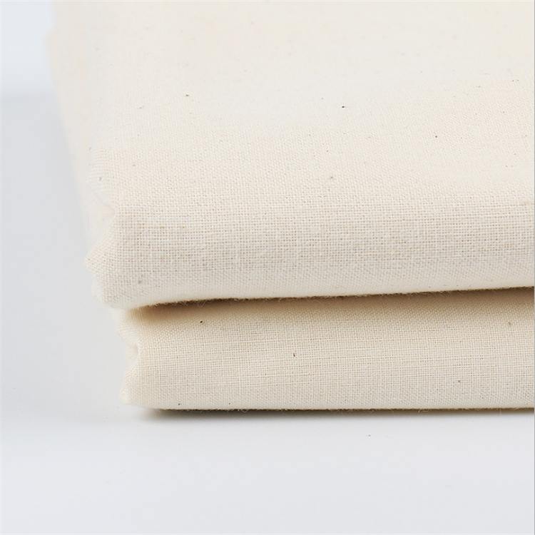 Polyester/Cotton Material Wholesale TC cotton touch greige/grey plain fabric