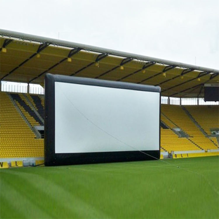 Guangzhou Barry china video outdoor inflatable movie theater screen for sale