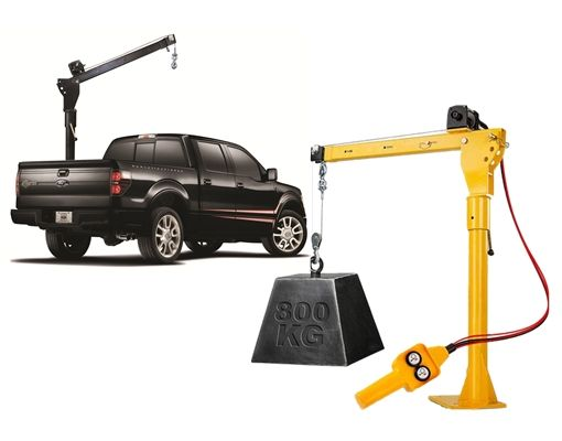 DC12V/24V/220V/380V 500kg 800kg 1000kg Small Lift Truck Crane Cheap Price Mini Pickup Hydraulic Truck