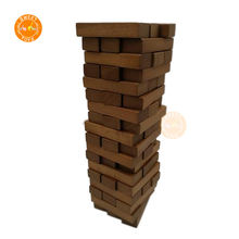 Woody's Classic Tower Wooden Stacking Board Math Games Tumble Wooden Building Blocks education toys for kids