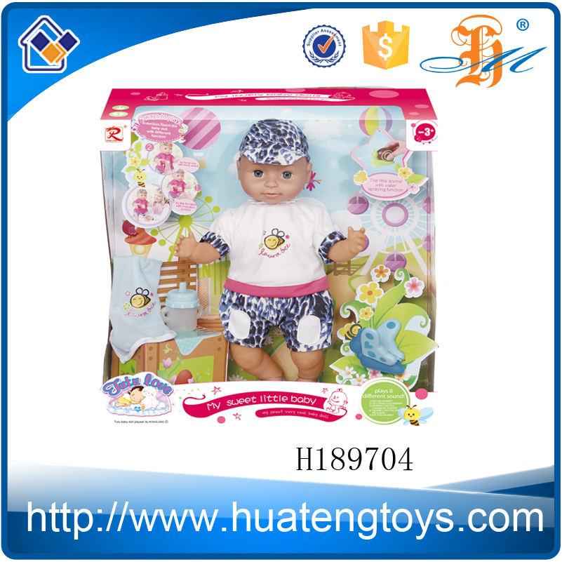 H189704 niños venta al por mayor encanta juguetes cool 18 pulgadas de silicona de moda muñecas muñecas del bebé