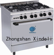 90x60 Free Standing Gas Oven with Grill Burner
