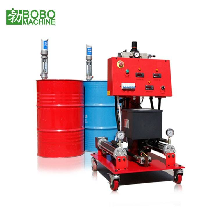 High pressure PU polyurethane insulation spray foam machine used for wall, roof, refrigerator, and box, pipe insulation
