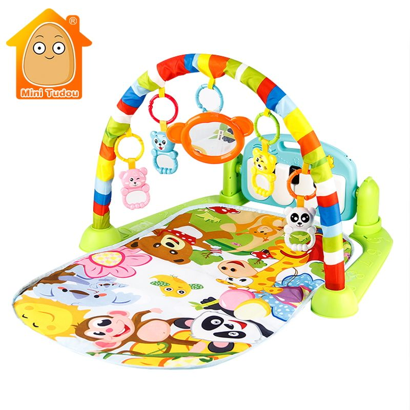 3 in 1 Piano Keyboard Infant Fitness Carpet Gift Baby Gym Puzzles Mat Educational Toys Baby Music Play Mat For Kids