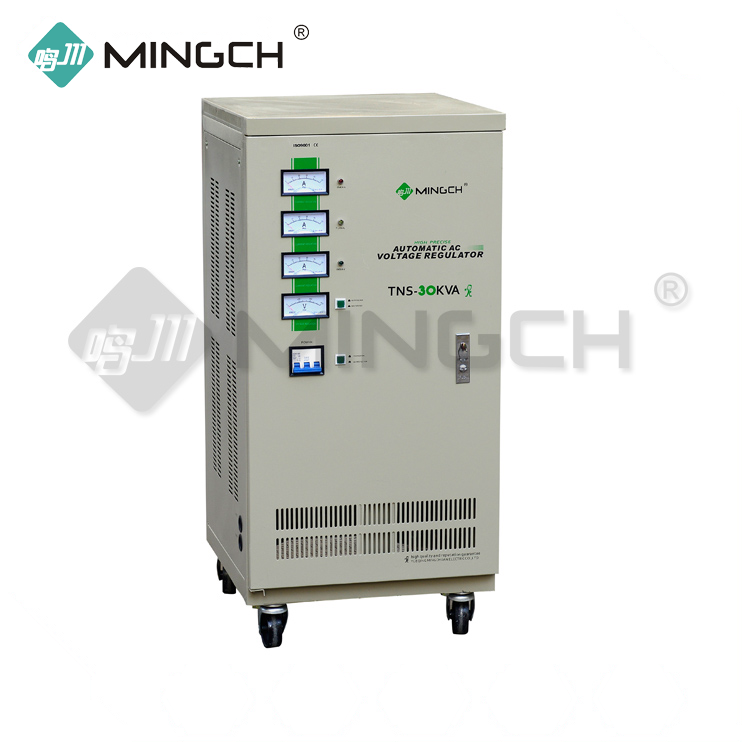 MINGCH 3 Phase 30Kva Power Otomatis Voltage Regulator Stabilizer