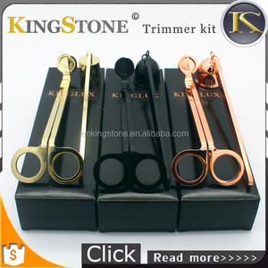 candle tools Wick snuffer/ trimmer/dipper candle scissors three-pieces hot sell