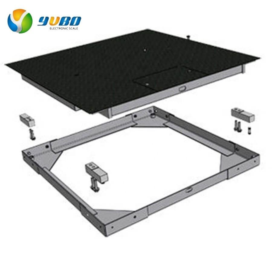 manufacture YUBO digital weighing platform scale 1000kg