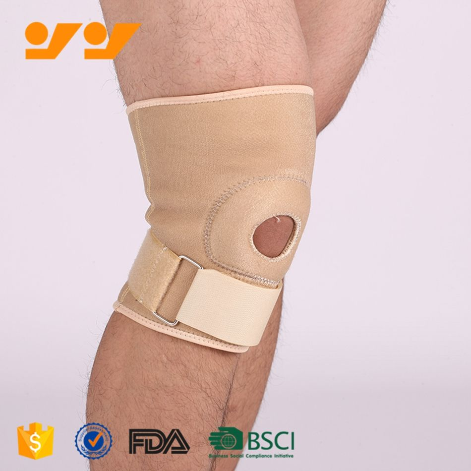 Neoprene bracoo breathable neoprene knee support/donjoy knee brace