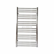 Stainless steel Hydronic 304 Chromed Heated Water Towel Rail Bathroom Polished Towel Warmer Radiator HZ-W-8