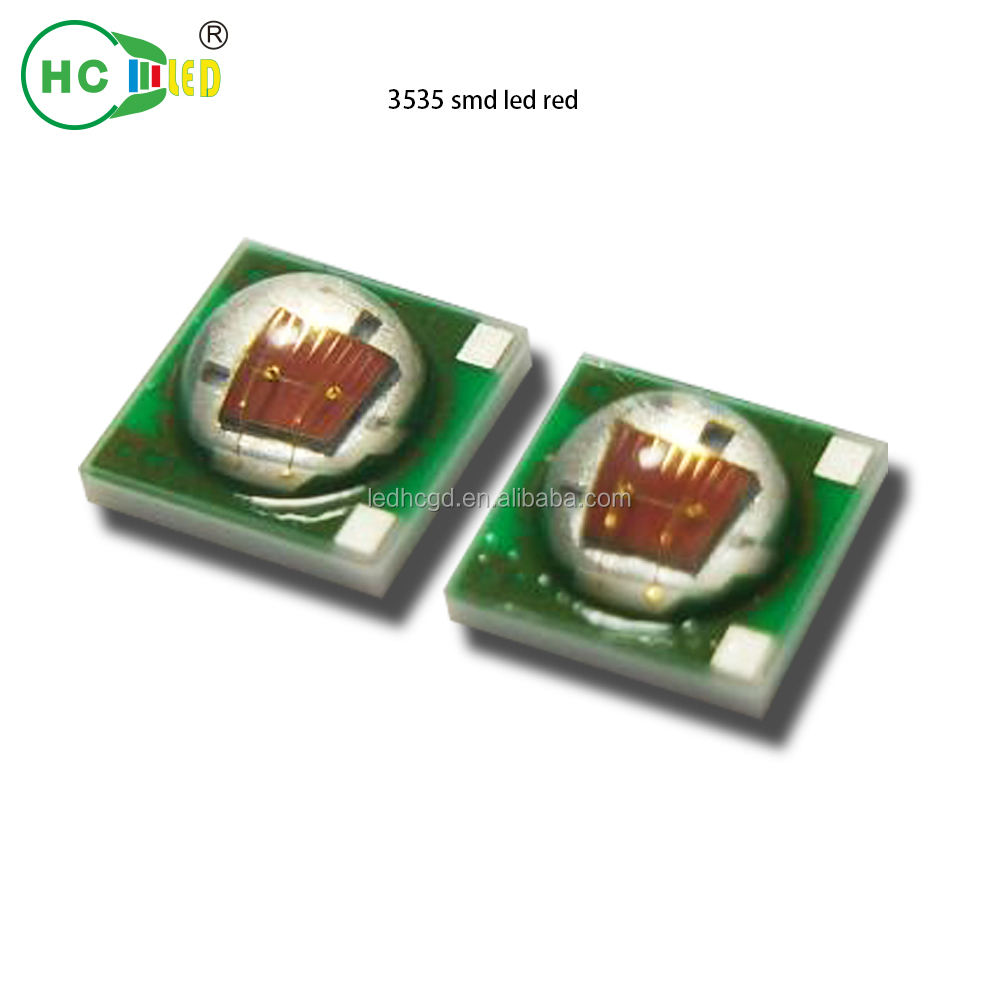smd 3535 white/red/green/blue color 1W 2W 3W high power SMD LED Chip