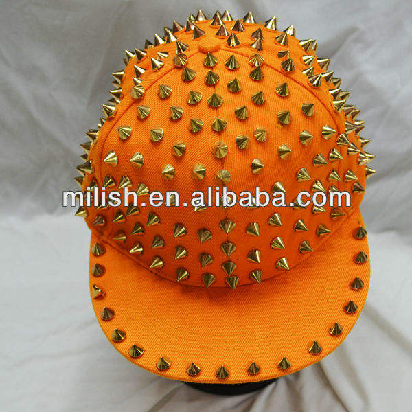 Party Spiked Klinknagels Hoed/Hiphop Rock Snapback Caps/Punk Hoed MH-1604