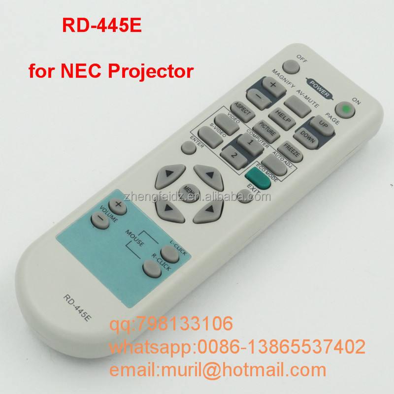 Màu xám chất lượng cao 28 nút necc chiếu dụng cụ điều khiển từ xa mt1075 + lt35 + vt695 vt700 vt800 chiếu điều khiển