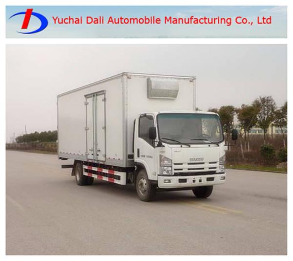Isuzu 4-7t caja de carga útil de camiones <span class=keywords><strong>van</strong></span> de la venta caliente