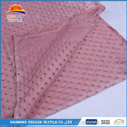 Chine <span class=keywords><strong>fabricant</strong></span> coréenne en peluche <span class=keywords><strong>minky</strong></span> <span class=keywords><strong>tissu</strong></span> pour couverture