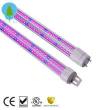 630nm red high par value red blue full spectrum high power efficient uv 9W led tube grow light for microgreens