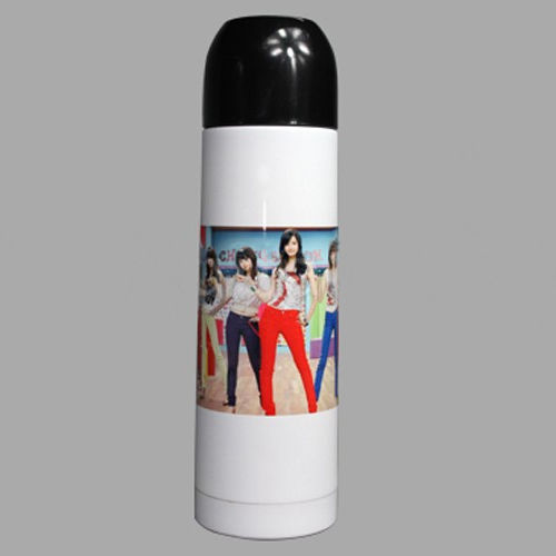 2016 Baru Hot jual Sublimasi 350 ml Putih Termos Flask