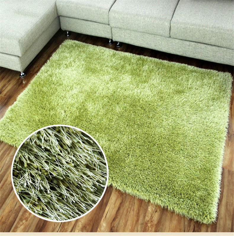 China Factory OEM Polyester Carpet Tufted Modern Design Anti-slip Shaggy Carpet for Living Room