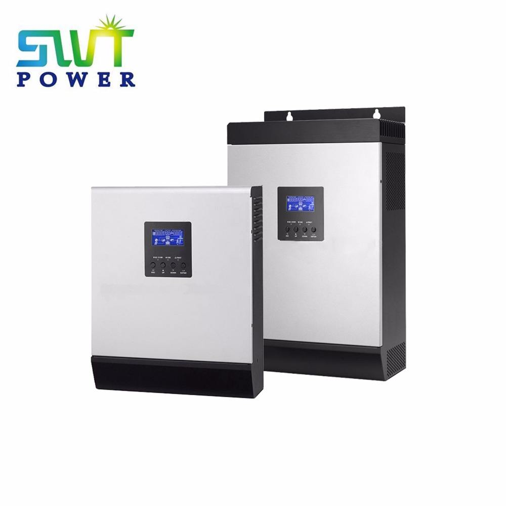 High Frequency Off Grid Solar Inverter with Pure sine wave built in solar MPPT charge controller 1KVA to 5KVA