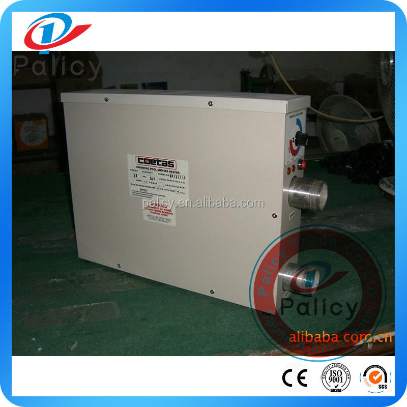 Swimming pool heater Costs 5.5KW-60 KW swimming pool heater portable
