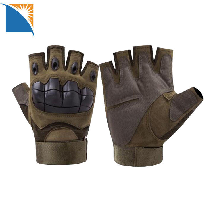 Military Tactical Gloves Hard Knuckle Men's Half Finger Gloves Sport Outdoor motorcycle gloves fingerless