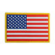 No Mold Cost Rubber Logo Patches USA American Flag Custom PVC Patch