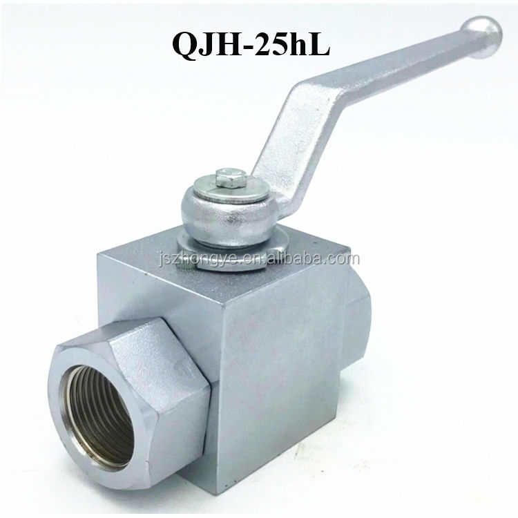 QJH-25hL NPT BSP JIC Threaded Hydraulic Operated Valve
