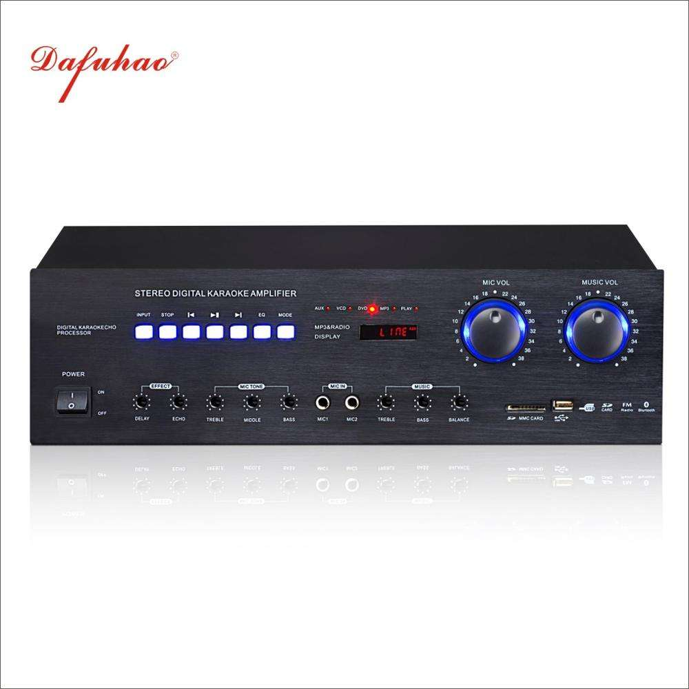 300 watt Hot selling Stereo High Power Amplifier For Home KTV Public Use Concerts
