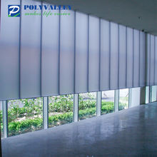 double UV coating polycarbonate cladding wall cladding with competitive polycarbonate sheet price
