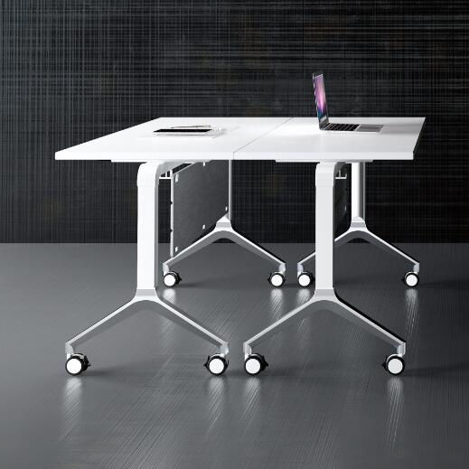 E1 MDF conference table combination folding training office desks with office chairs