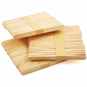 Professionelle holz popsicle sticks